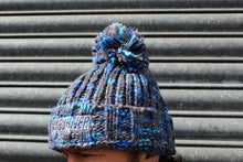 Load image into Gallery viewer, Deluxe 'Electric Blue' Wooly Hat
