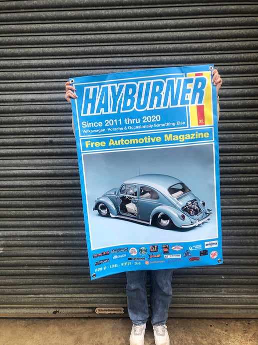 Hayburner Front Cover Banner - Issue 32