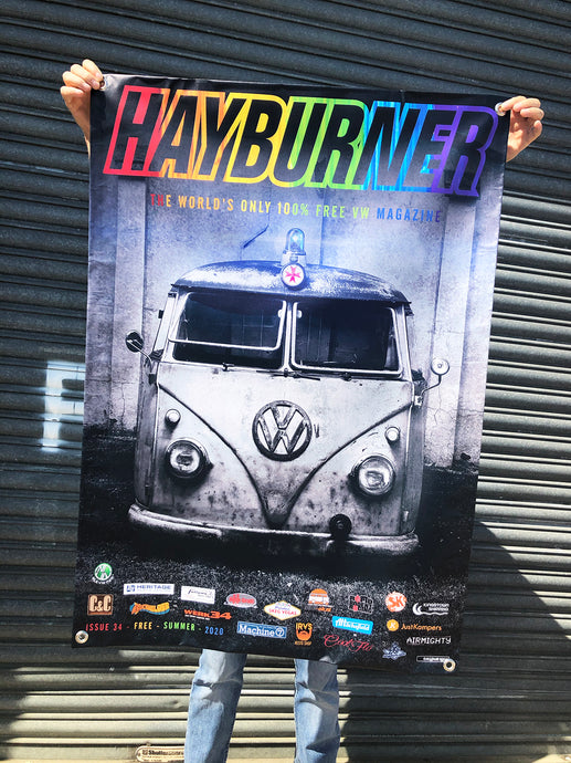 Hayburner Front Cover Banner - Issue 34
