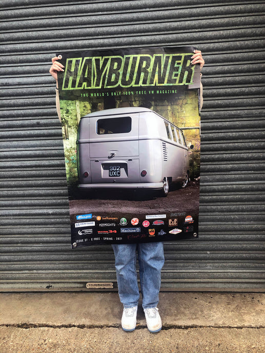 *NEW* Hayburner Front Cover Banner - Issue 37