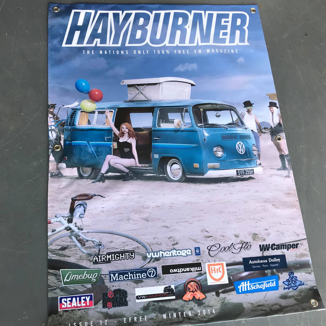 Hayburner Front Cover Banner - Issue 12