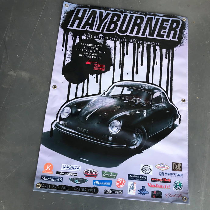 Hayburner Front Cover Banner - Issue 25