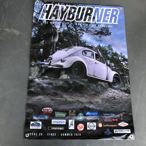 Hayburner Front Cover Banner - Issue 26