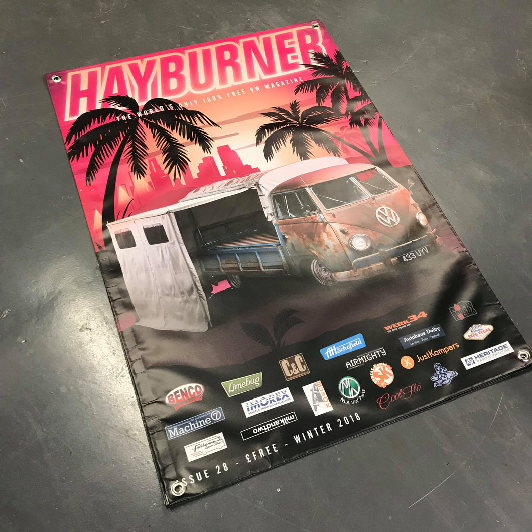 Hayburner Front Cover Banner - Issue 28