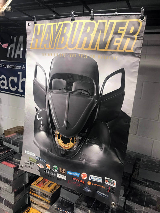 Hayburner Front Cover Banner - Issue 30