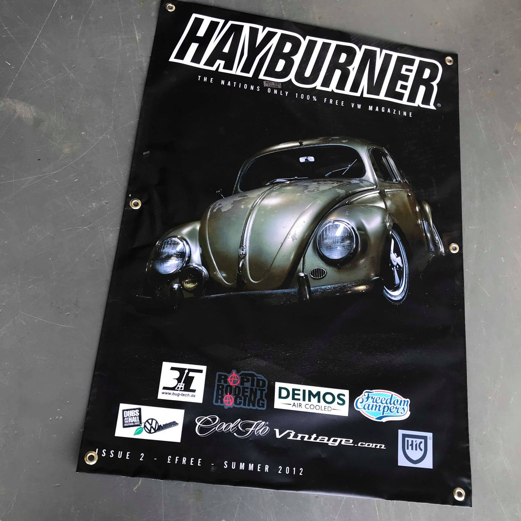 Hayburner Front Cover Banner - Issue 2