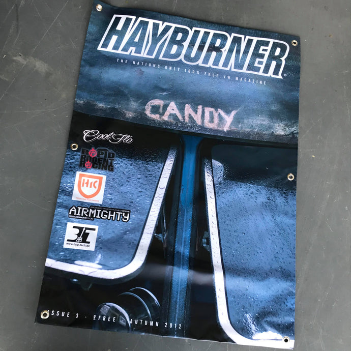 Hayburner Front Cover Banner - Issue 3