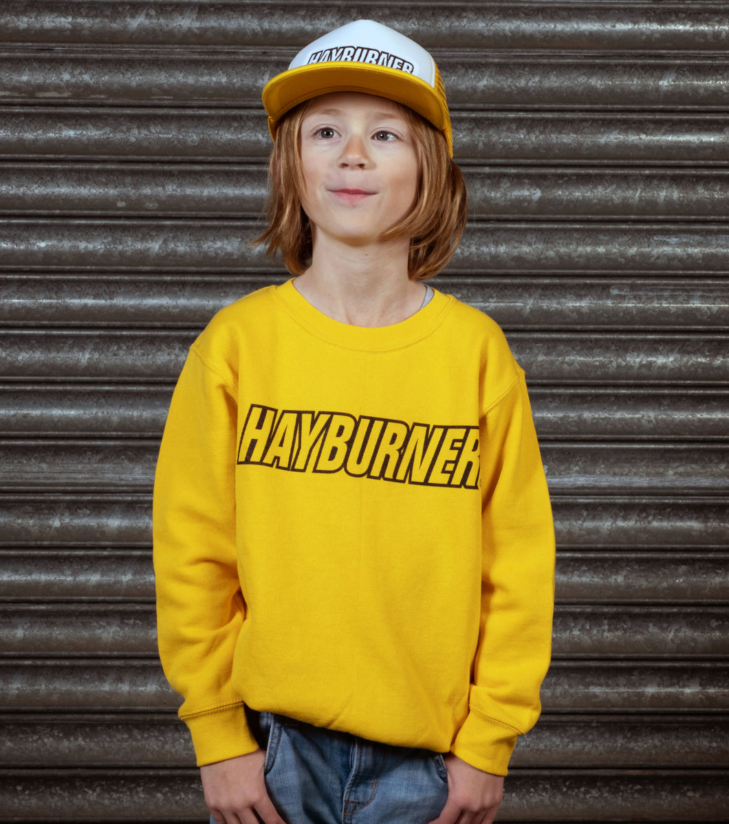 Kid's Yellow Sweatshirt