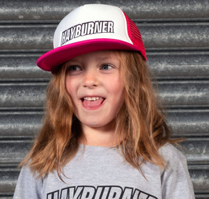 Kids Pink Trucker Cap