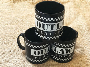 Outlaw Flat Four Mugs