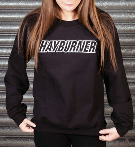 Black with White Logo Sweatshirt