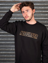 Load image into Gallery viewer, Black with Gold Logo Sweatshirt