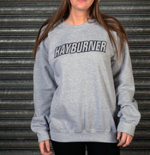 Load image into Gallery viewer, Heather Grey with Black Logo Sweatshirt