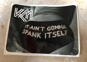Spank' sticker No.20
