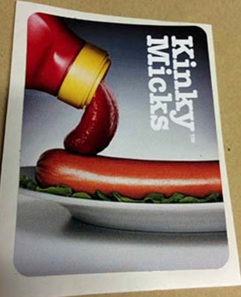 Hotdog' Sticker No.34