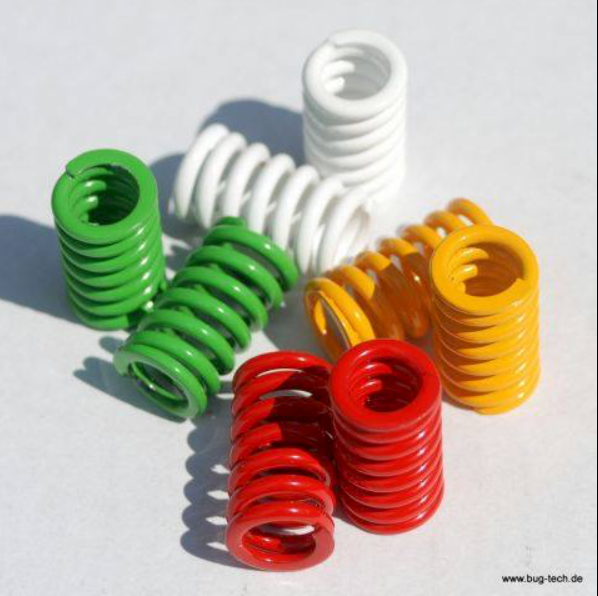 Powder Coated Coloured Springs