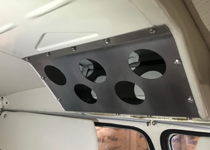 Bus Air Vent Cover With 5 52mm Gauge Holes