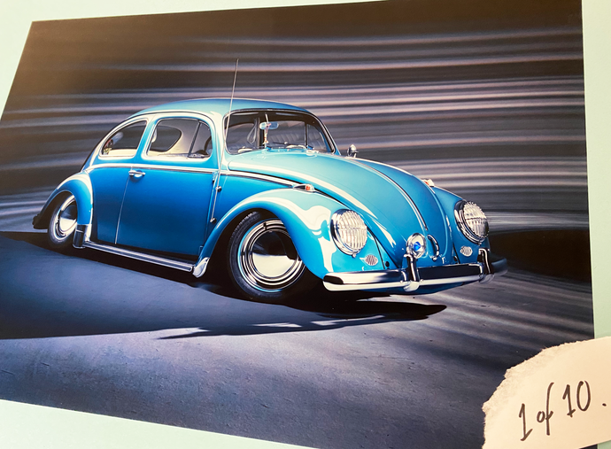 Limited Edition Issue 32 Beetle Prints
