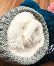 Load image into Gallery viewer, *NEW* Deluxe Grey Wooly Hat