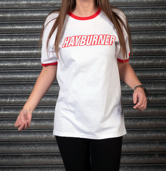 Red And White Ringer T-Shirt