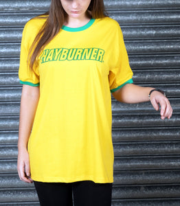 Yellow And Green Ringer T-Shirt
