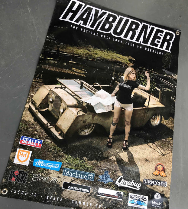 Hayburner Front Cover Banner - Issue 10