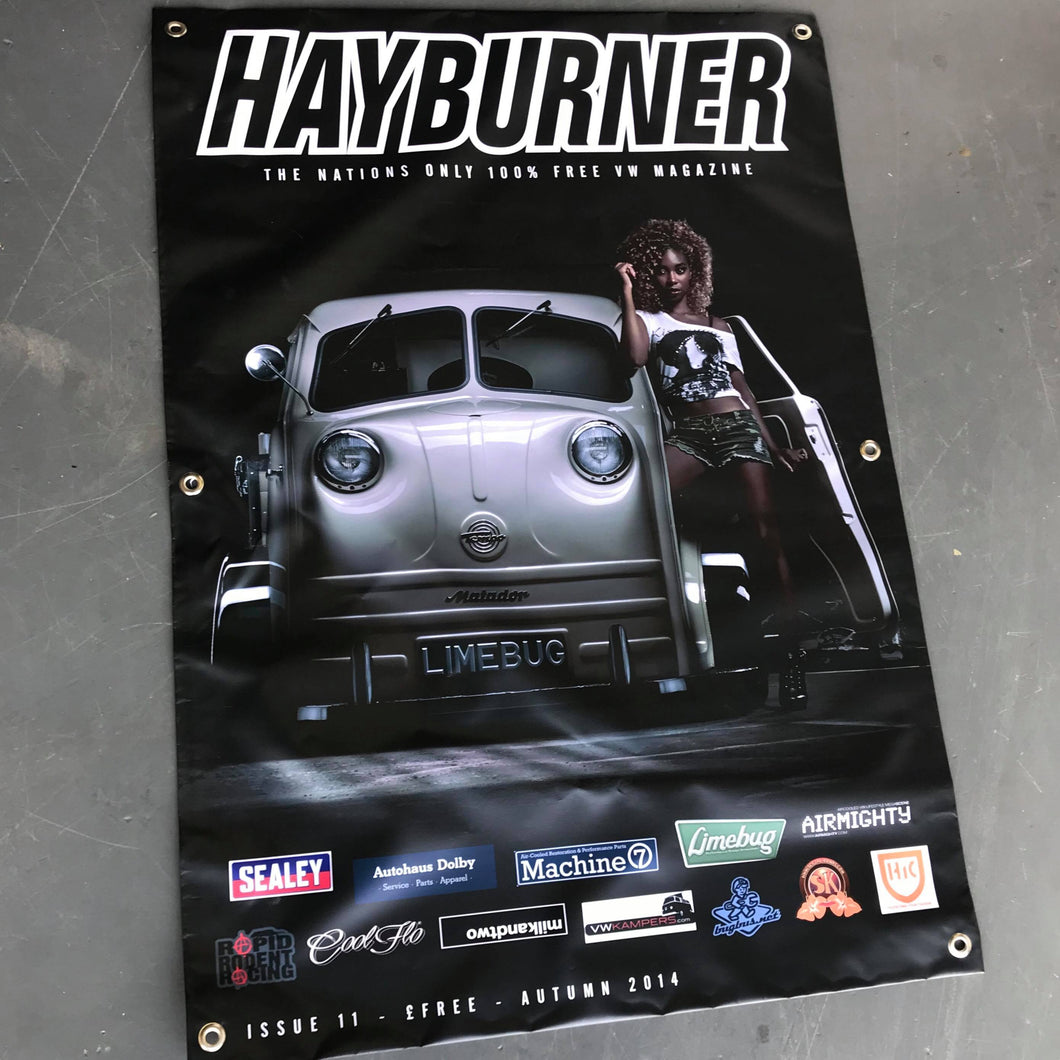 Hayburner Front Cover Banner - Issue 11