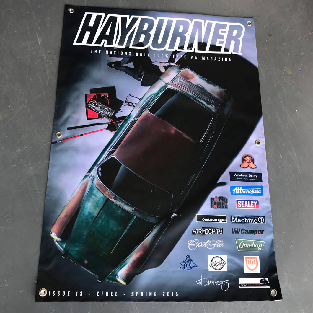 Hayburner Front Cover Banner - Issue 13