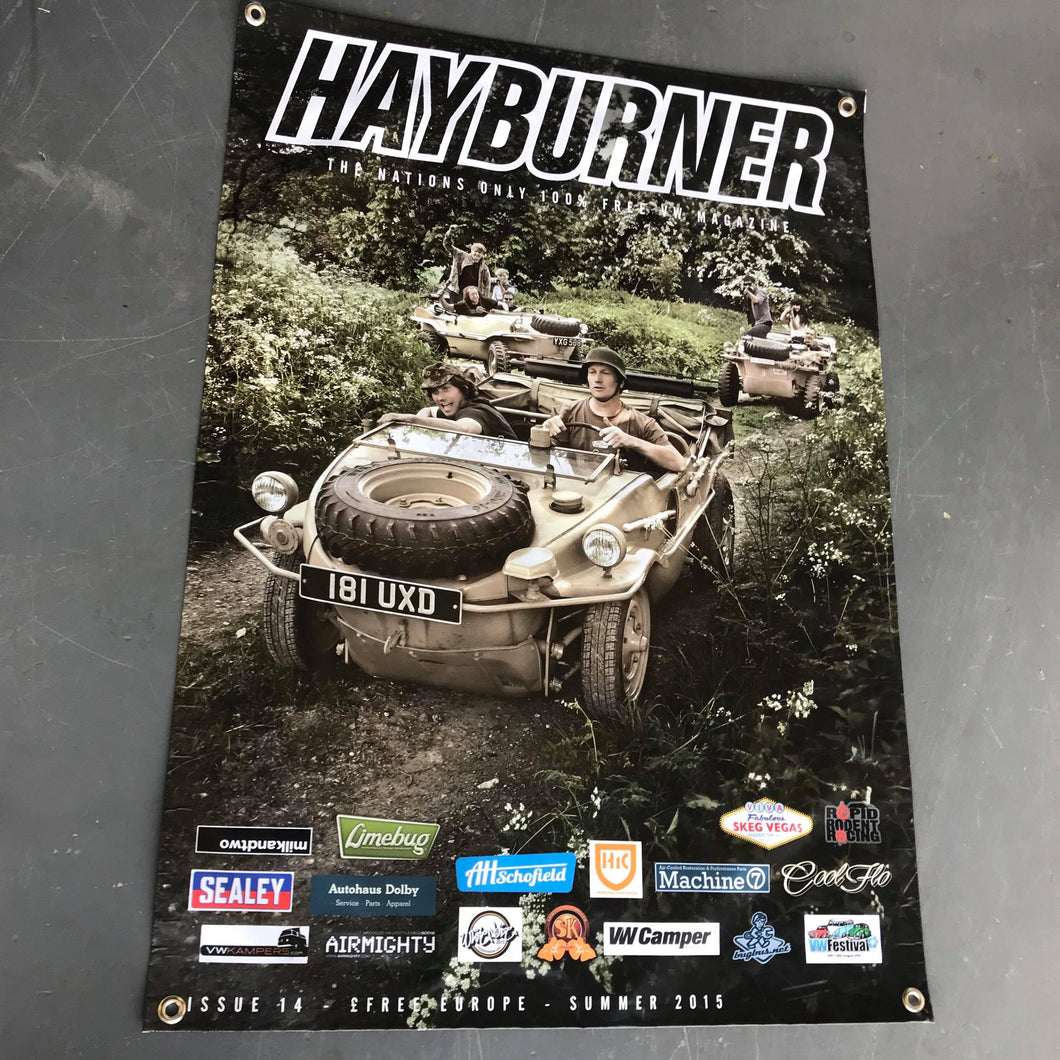 Hayburner Front Cover Banner - Issue 14