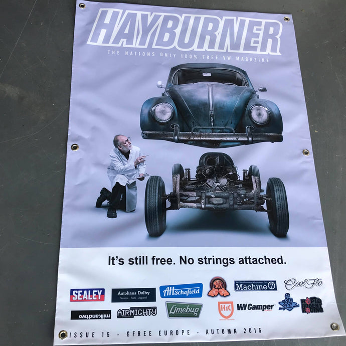 Hayburner Front Cover Banner - Issue 15