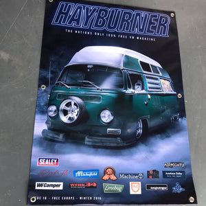 Hayburner Front Cover Banner - Issue 16