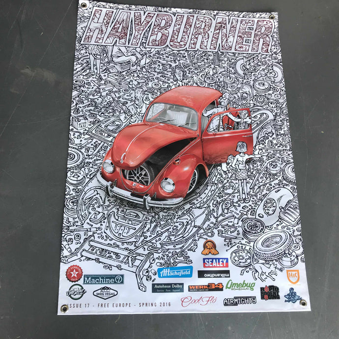 Hayburner Front Cover Banner - Issue 17
