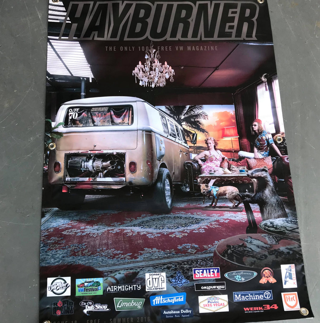 Hayburner Front Cover Banner - Issue 18