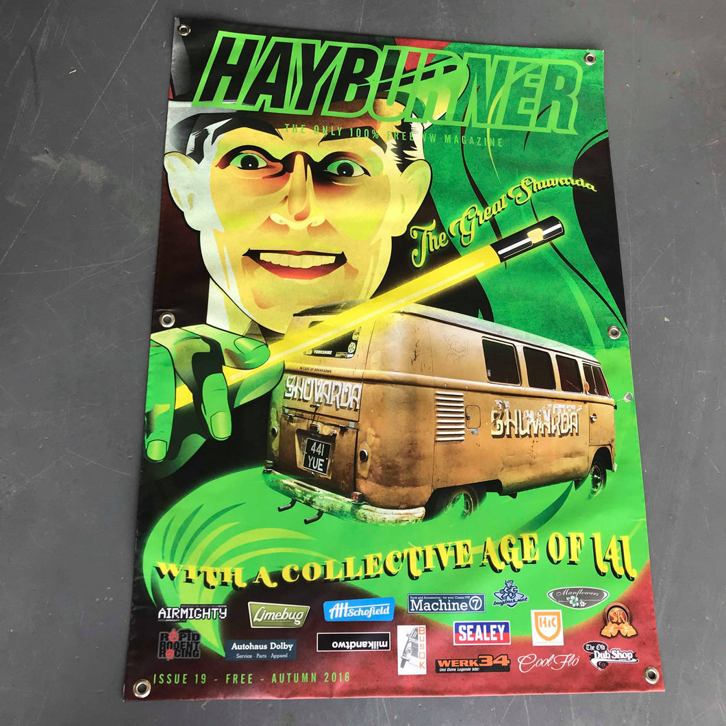 Hayburner Front Cover Banner - Issue 19