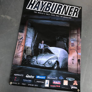 Hayburner Front Cover Banner - Issue 21