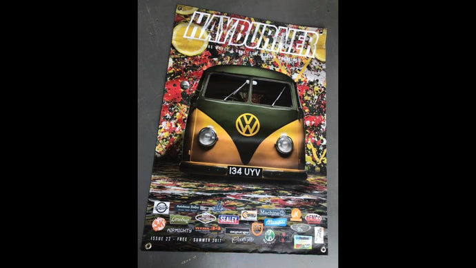Hayburner Front Cover Banner - Issue 22