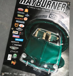 Hayburner Front Cover Banner - Issue 23