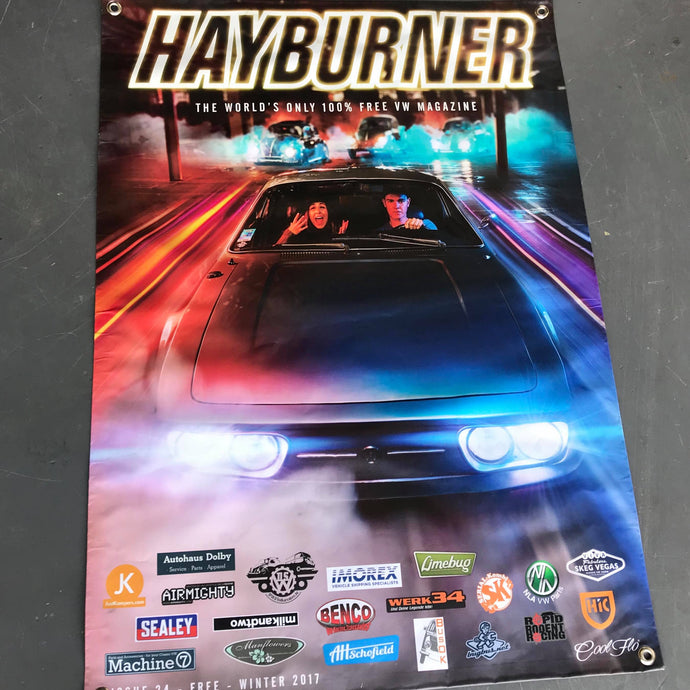 Hayburner Front Cover Banner - Issue 24