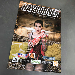 Hayburner Front Cover Banner - Issue 4