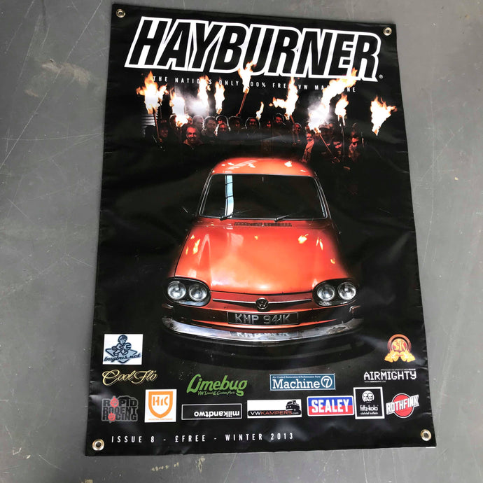 Hayburner Front Cover Banner - Issue 8