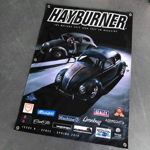 Hayburner Front Cover Banner - Issue 9