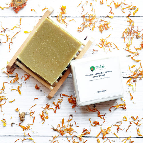 Warming Botanical Shampoo  Bar