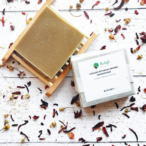 Cooling Botanical Shampoo  Bar
