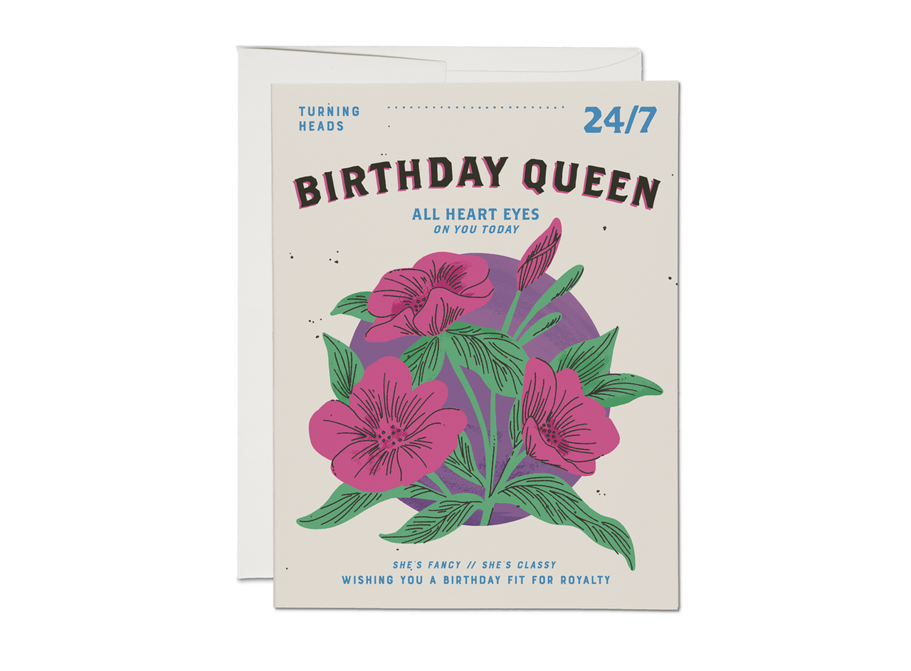 Red Cap Cards - Birthday Queen