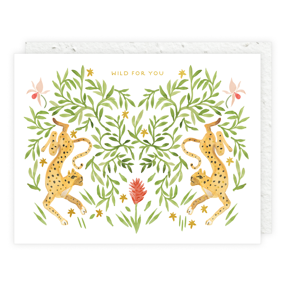 Seedlings - Jungle Cats Seedlings Card