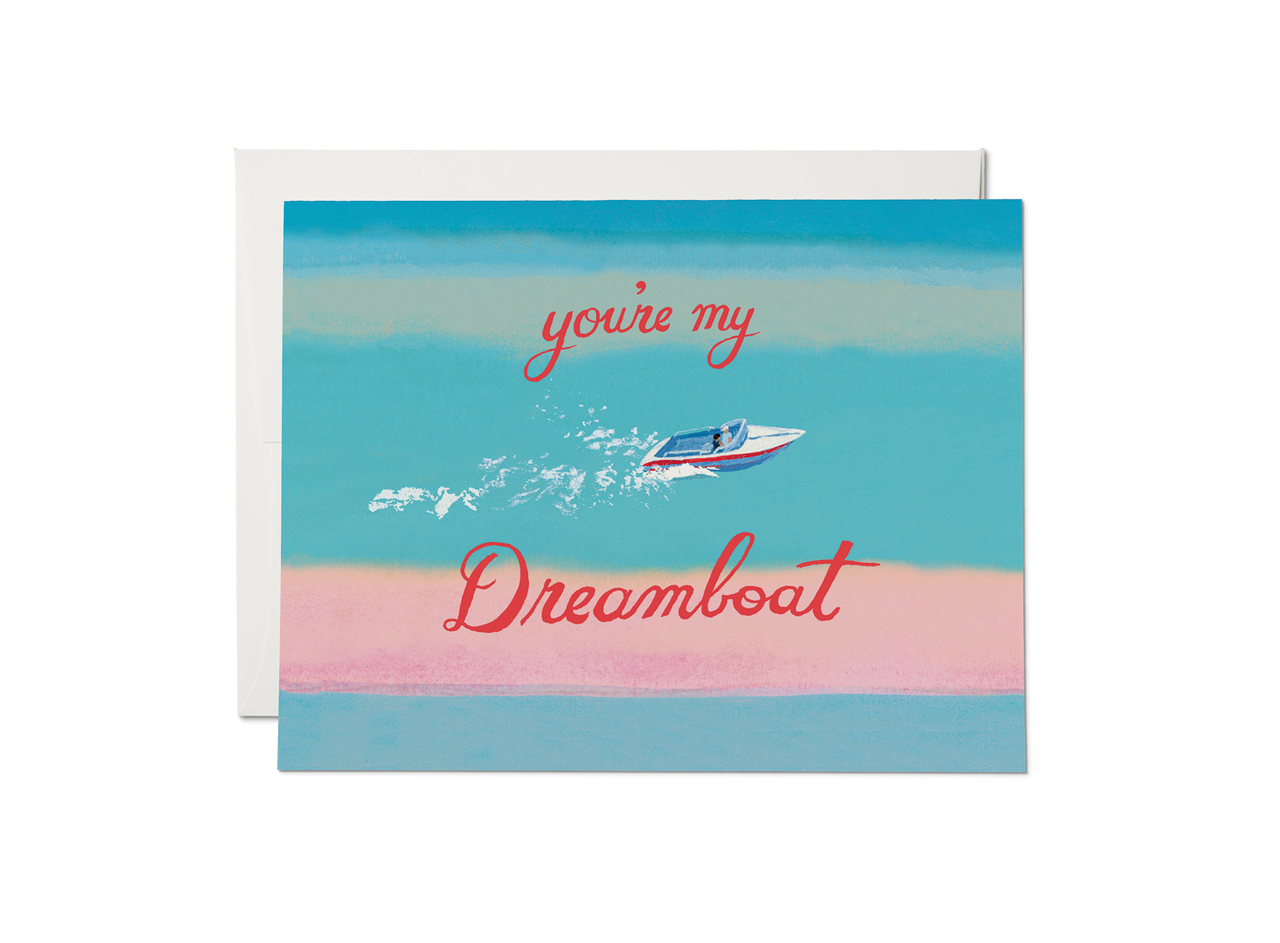 Red Cap Cards - My Dreamboat
