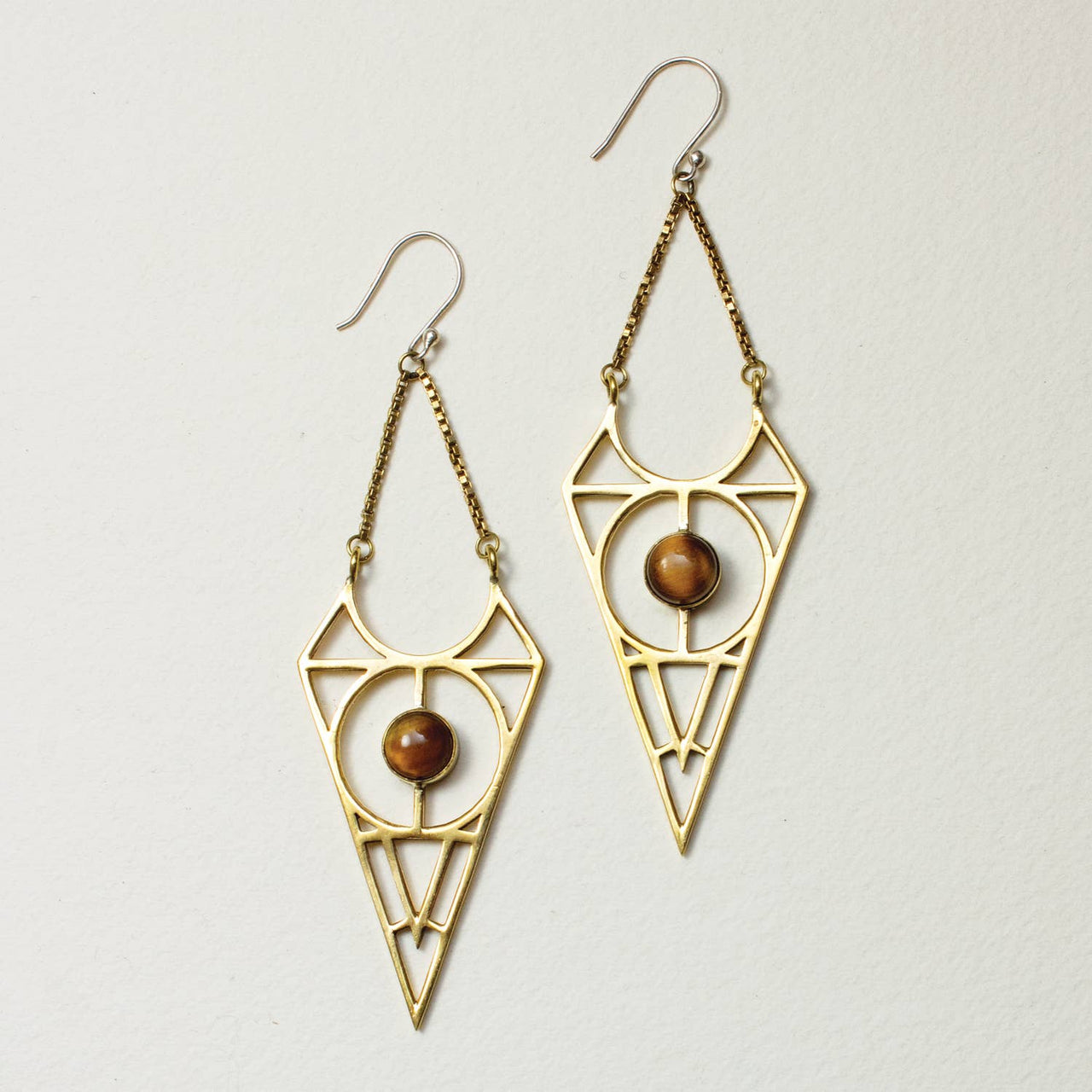 Wild Tigress Earrings