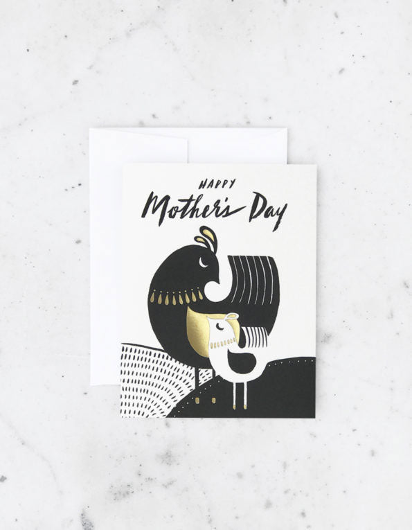 Mid Century Mother's Day Card