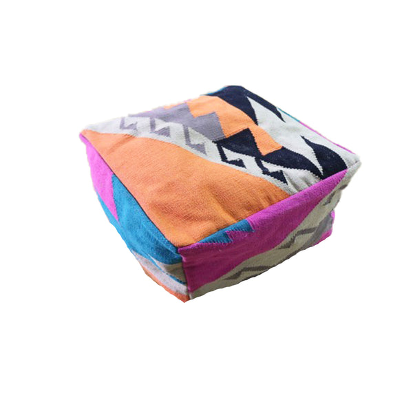 Pacific Sunset Floor Pouf