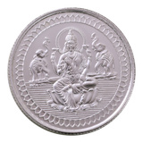 10 Gram Lakshmi Silver Coin (999 Purity)